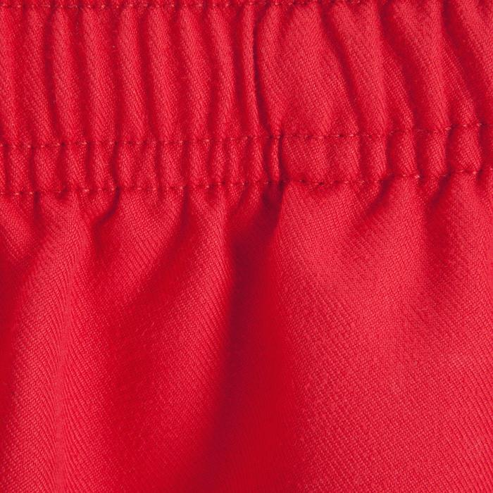 Short rugby adulte Full H 100 rouge