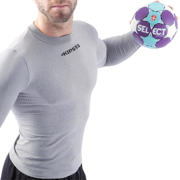 Ballon de handball Solera taille 2 violet bleu clair blanc - 882409