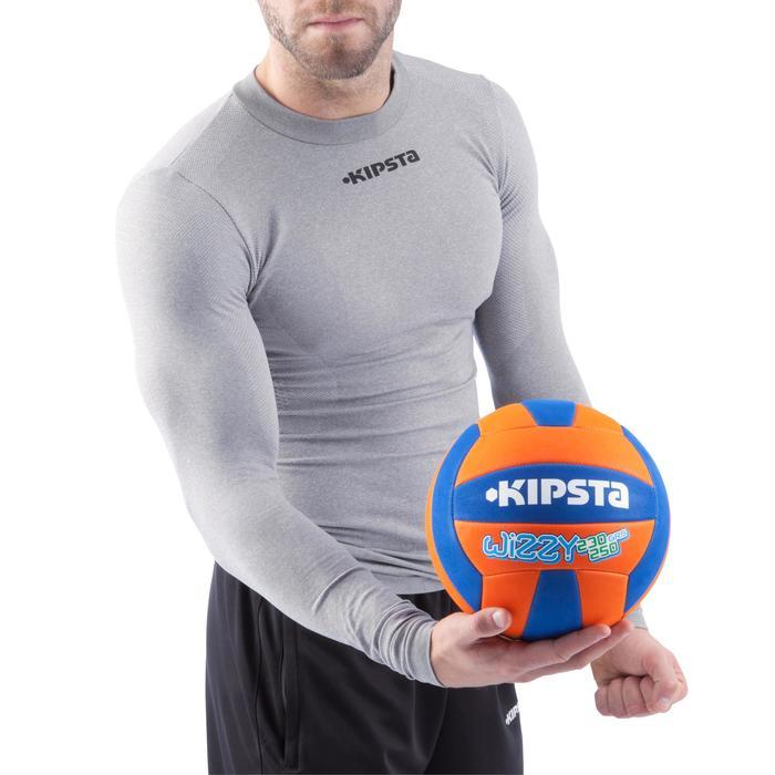 Ballon de volley-ball Wizzy 260-280g blanc et bleu à partir de 15 ans - 882420