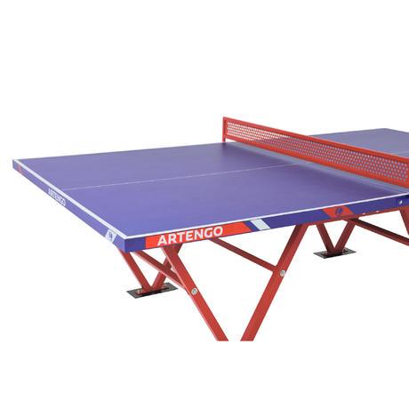 Tavolo ping pong ft 800 camp outdoor artengo - Tavolo da ping pong decathlon prezzi ...