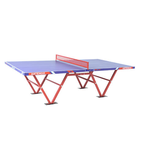 Tavolo ping pong ft 800 camp artengo for Materiale tavolo ping pong