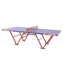 Tafeltennistafel outdoor PPT 500 Camp blauw