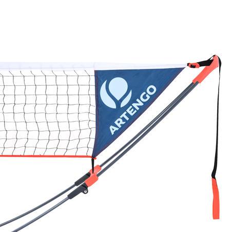 רשת טניס מסוג Speednet באורך 3 מטר - אדומה