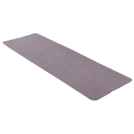 Opvouwbare rubberen yogamat van 1,5 mm dik beige - 882997