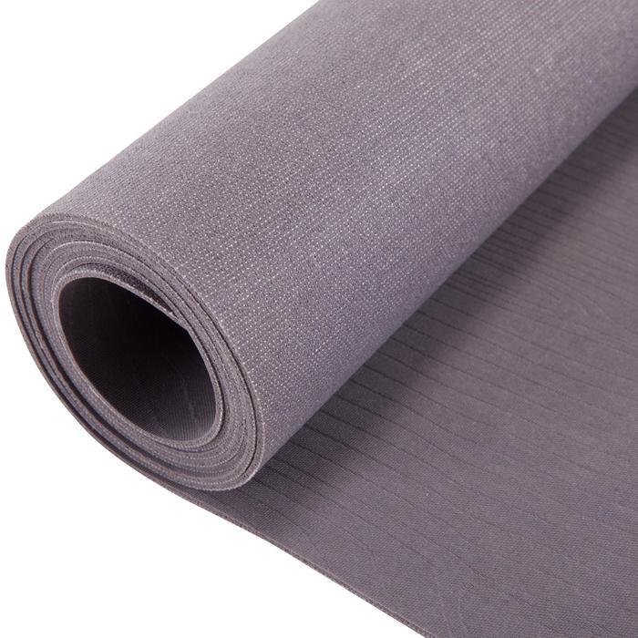 Opvouwbare rubberen yogamat van 1,5 mm dik beige