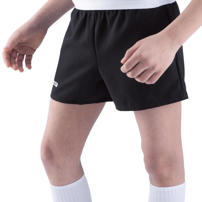 Short rugby Full H 100 enfant noir