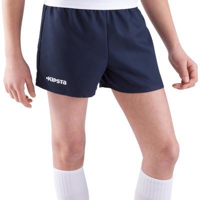 Pantaloneta rugby Full H 100 niños azul