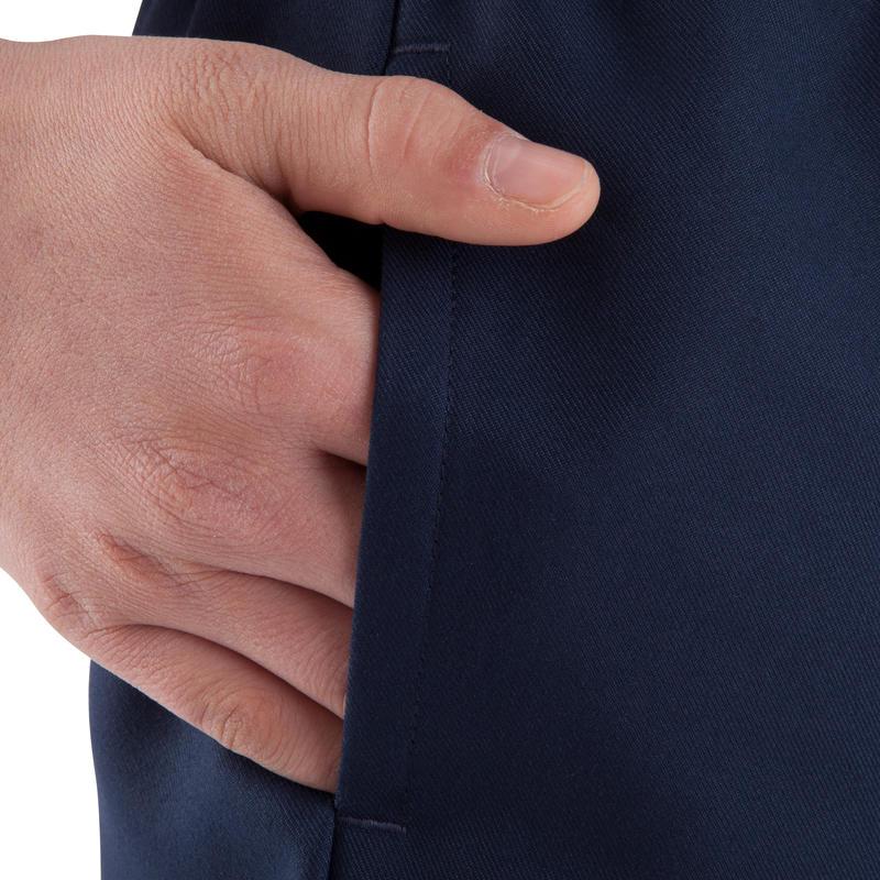 Pantalón corto rugby Full H 100 niños azul