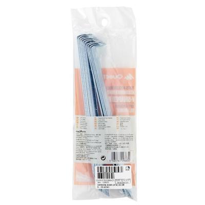 Estaca angular para carpa: para suelo blando (paquete por 10)
