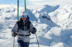 Skibril Skiing 900 volwassenen, zwart en blauw, verwisselbare lenzen cat. 4+2 - 883390