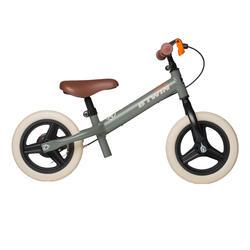 Loopfietsje Run Ride voor kinderen, 10 inch, Cruiser kaki