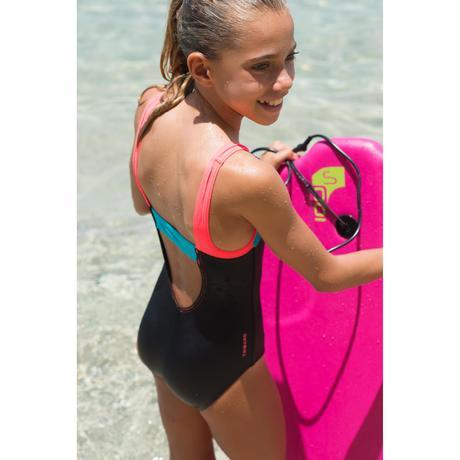 maillot de bain fille 1p g sport color block previous next - Maillot De Bain Color