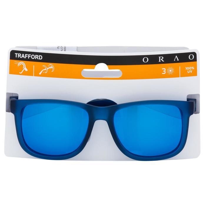 lunettes de soleil de marche sportive adulte WALKING 400 bleues catégorie 3