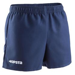 100 Kids' Rugby Shorts - Blue