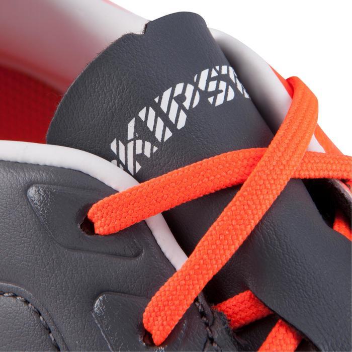 Voetbalschoenen volwassenen Agility 700 Pro SG voor drassig terrein grijs/oranje
