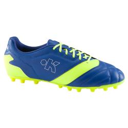 Density 300 AG Adult Football Artificial Turf Boot - Blue/Yellow