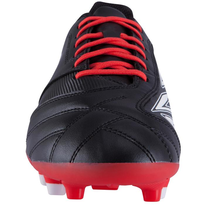 Chaussure rugby adulte terrains secs Density 300 FG noir rouge blanc - 884174