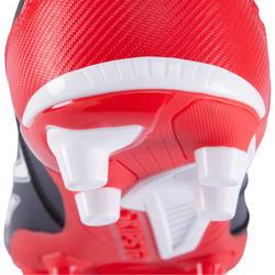 Rugbyschoenen volwassenen Density 300 FG zwart/rood - 884178