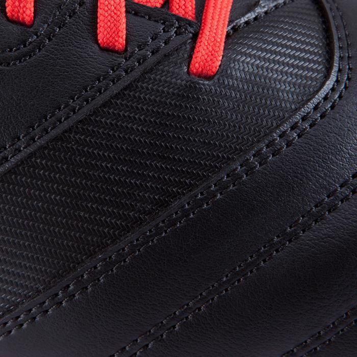 Chaussure rugby adulte terrains secs Density 300 FG noir rouge blanc - 884182