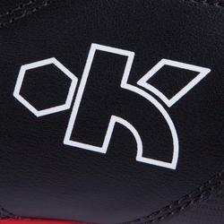 Rugbyschoenen volwassenen Density 300 FG zwart/rood - 884185