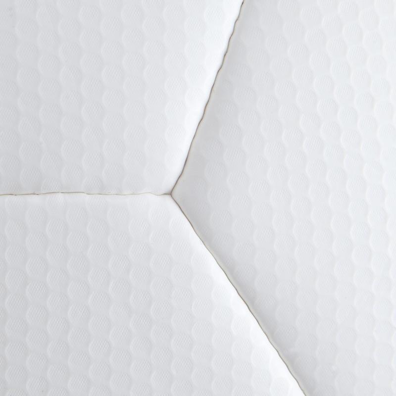 F500 Hybrid Size 5 Football - White/Blue/Ochre