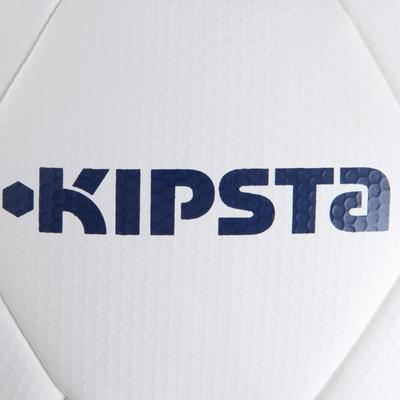 Balón de fútbol Híbrido talla 5 F500 blanco