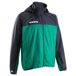 Veste coupe pluie et vent adulte noir vert