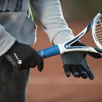 Tennishandschuhe warm schwarz