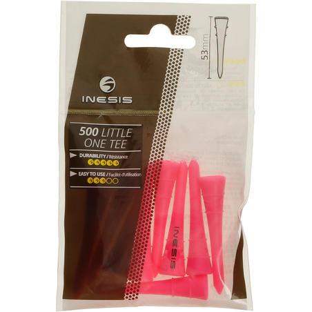 54 mm Plastic Tee x10 - Pink