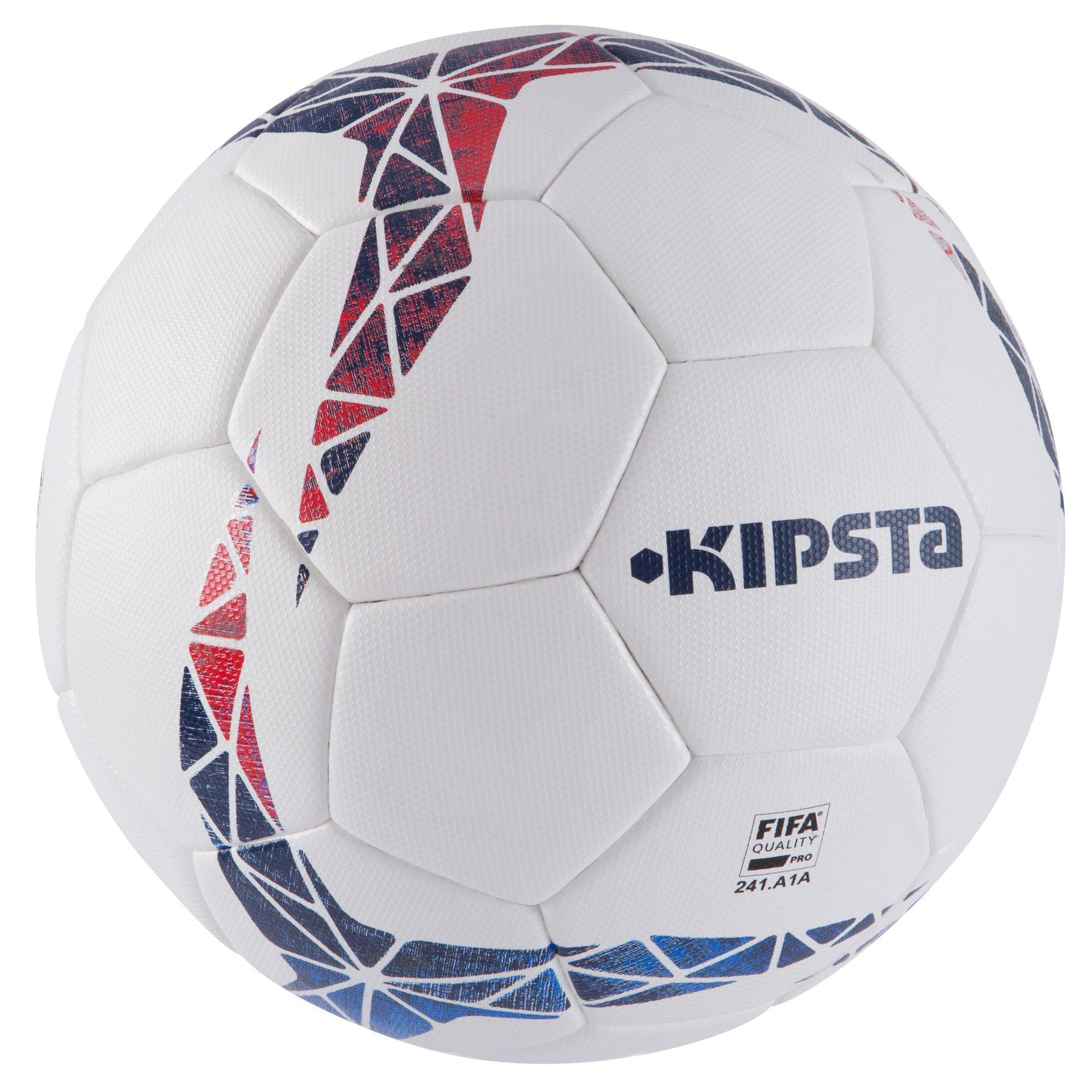 ballon de football f900 fifa pro thermocoll taille 5 blanc bleu rouge kipsta by decathlon. Black Bedroom Furniture Sets. Home Design Ideas