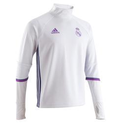 Voetbalshirt training volwassenen Real Madrid wit - 885539