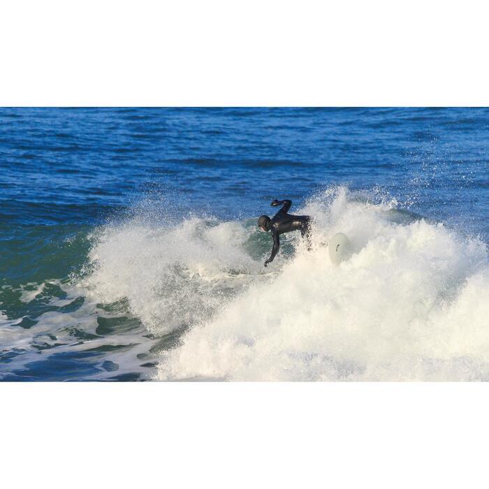 Traje Neopreno Largo Surf Olaian Hombre 5/4 mm Negro Invierno