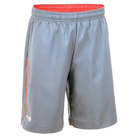 Jongensshort Soft blauw/wit 500 tennis/badminton/tafeltennis/padel/squash - 885604