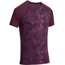 T-shirt Fitness Muscle voor heren - 885698