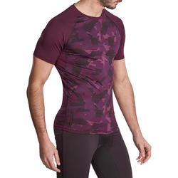 T-shirt Fitness Muscle voor heren - 885701