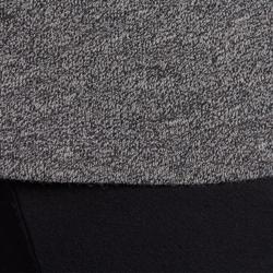 Dans T-shirt met lange mouwen voor dames gemêleerd grijs - 885759