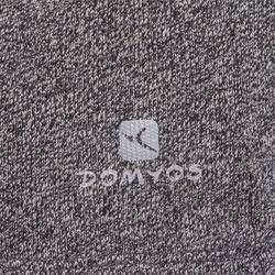 Dans T-shirt met lange mouwen voor dames gemêleerd grijs - 885766