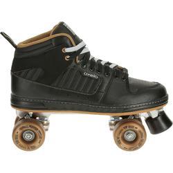 Rolschaatsen voor volwassenen Quad 5 alu zwart/brons