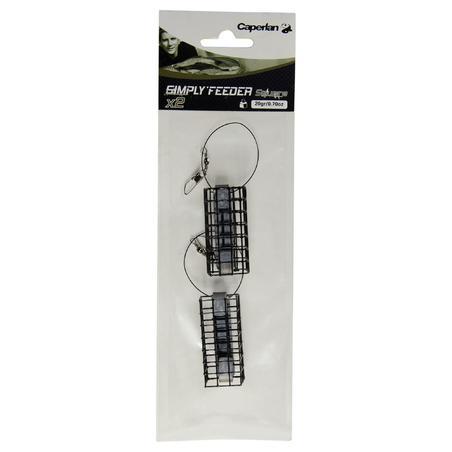 Accessoire pêche au feeder SIMPLY'FEEDER CARRÉ X 2 20 g