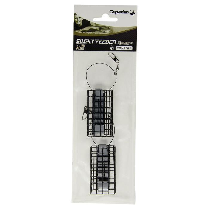Accessoire pêche au feeder SIMPLY'FEEDER SQUARE X2 30 gr - 887094