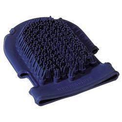 Plastic handschoen/borstel ruitersport kleur volgens voorraad