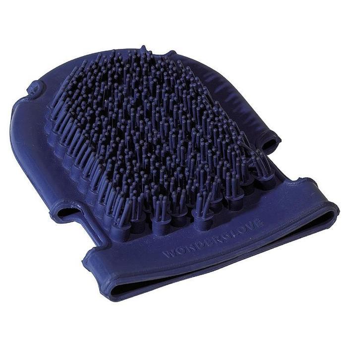 Plastikhandschuh mit Bürste Zufallsfarbe