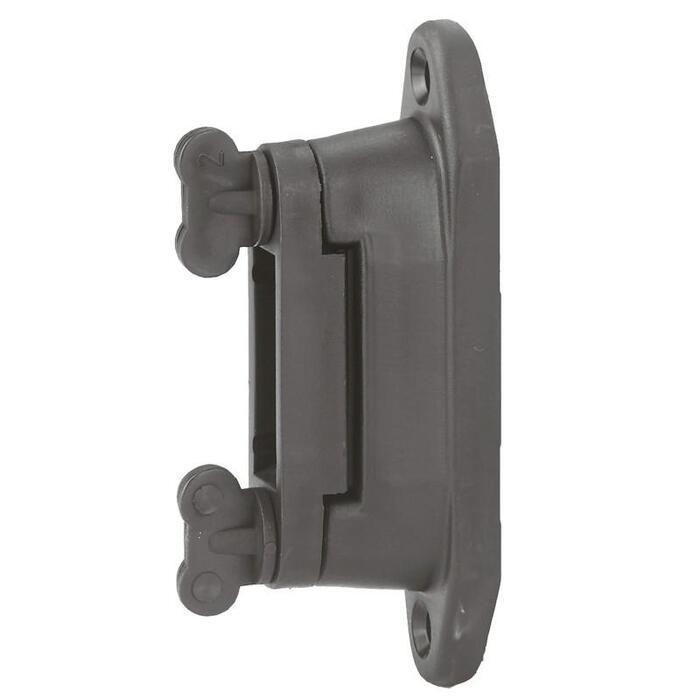Isolatoren Equiblock für Weidezaun, Bandbreite bis 40 mm 6er-Pack