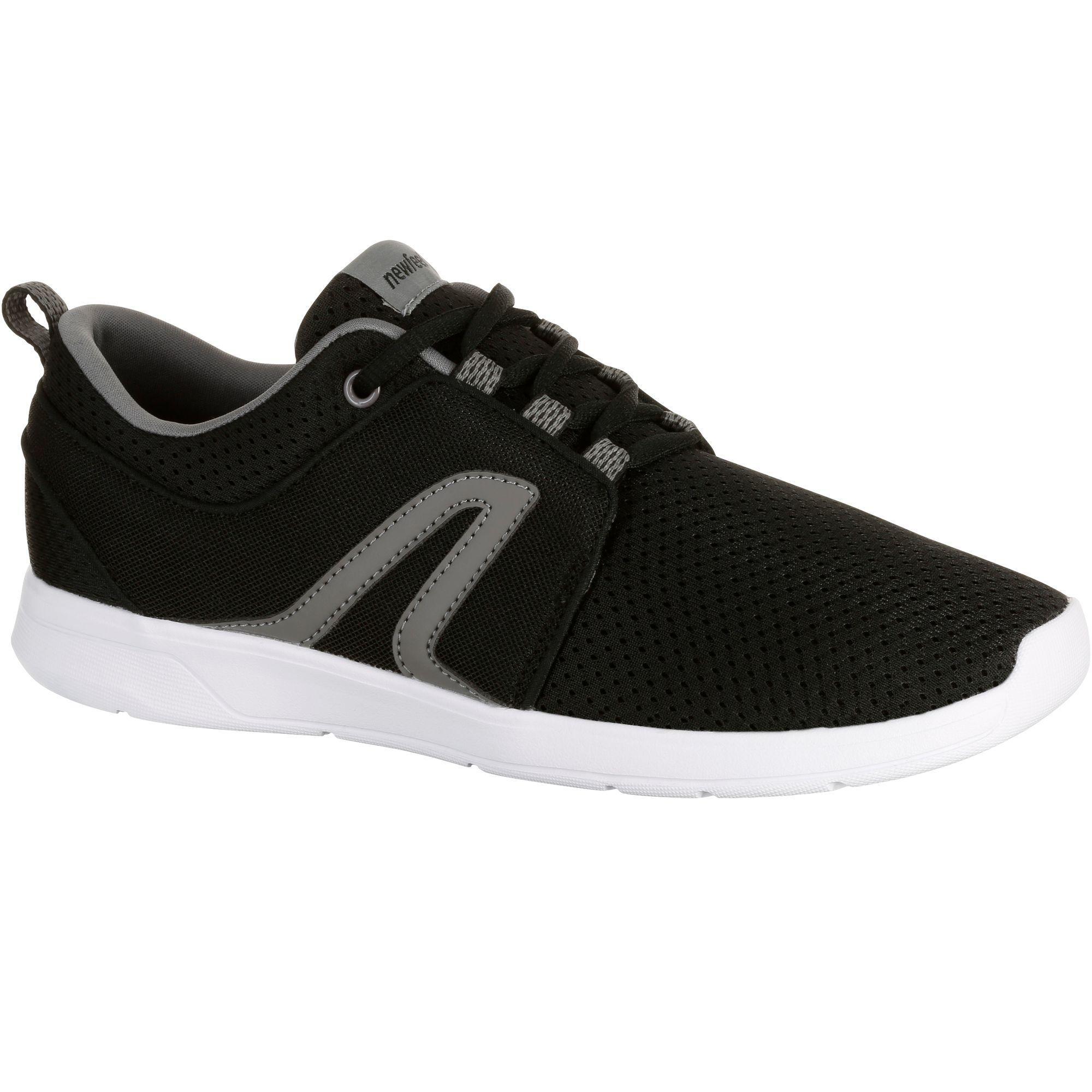 Chaussures marche sportive femme Soft 140 noir