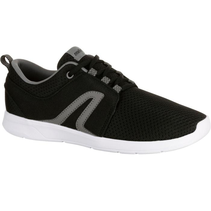 Damessneakers Soft 140 mesh zwart
