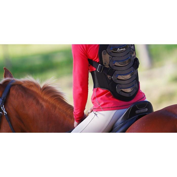 """Selle mixte synthétique à arçon réglable équitation cheval RIDE 2 noir 17""""5 - 889258"""