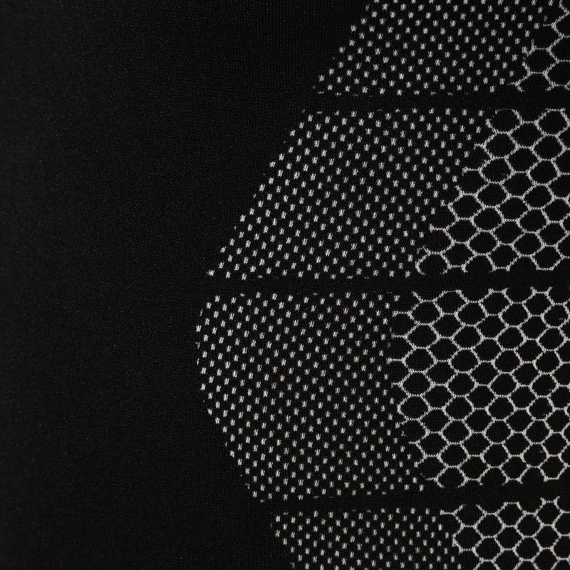 Keepdry 500 Adult Breathable Short Sleeve Base Layer - Black
