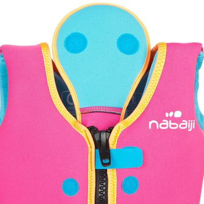 Chaleco de natación para niños rosado