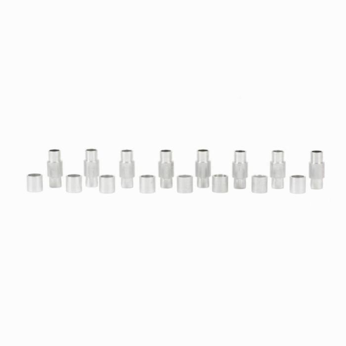 Pack entretoises aluminium roller 8mm / 6mm - 889645