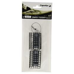 Accessoire pêche au feeder SIMPLY'FEEDER SQUARE X2 70 gr